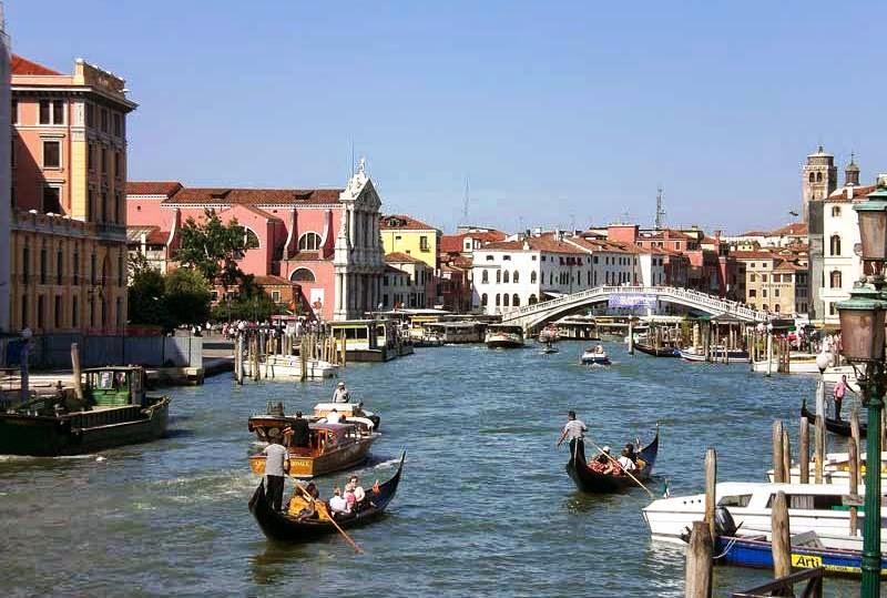 Grand Canal em Veneza