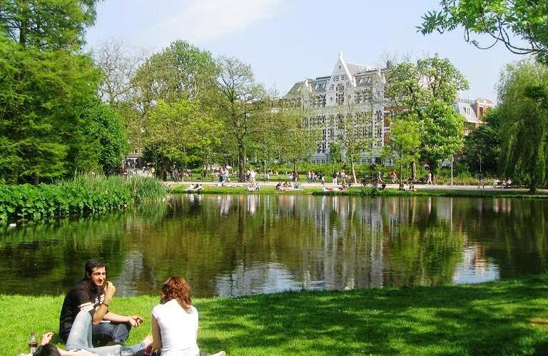 Vondelpark em Amsterdam