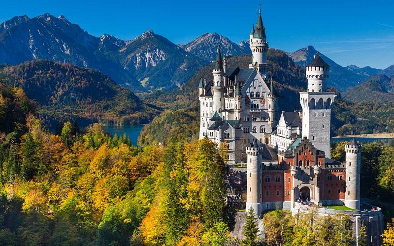 Castelo de Neuschwanstein   Alemanha
