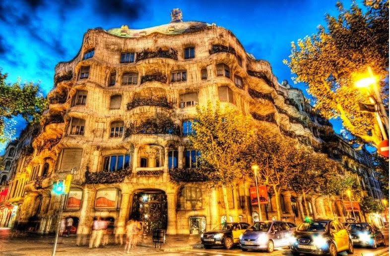 La Pedreira em Barcelona