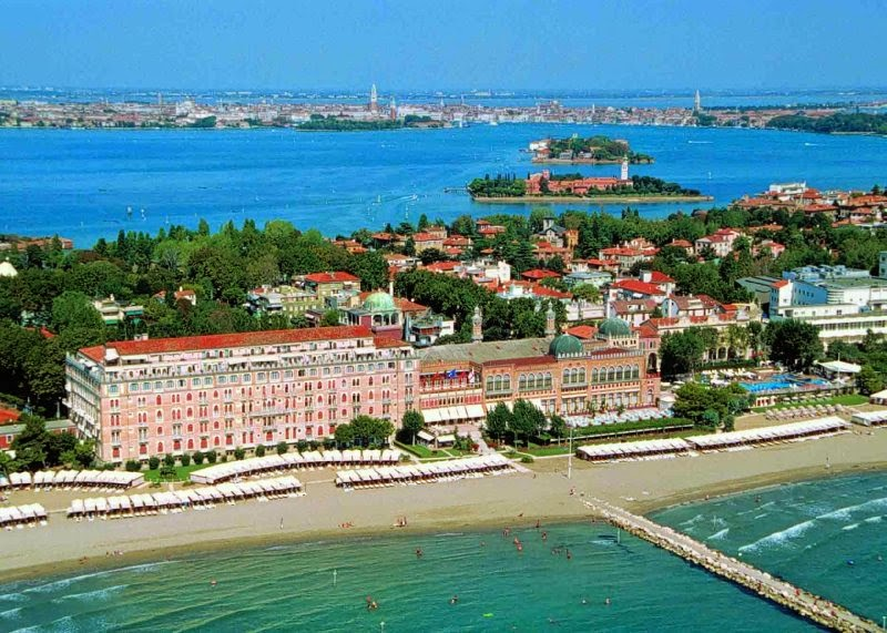Ilha Lido de Veneza na Itália