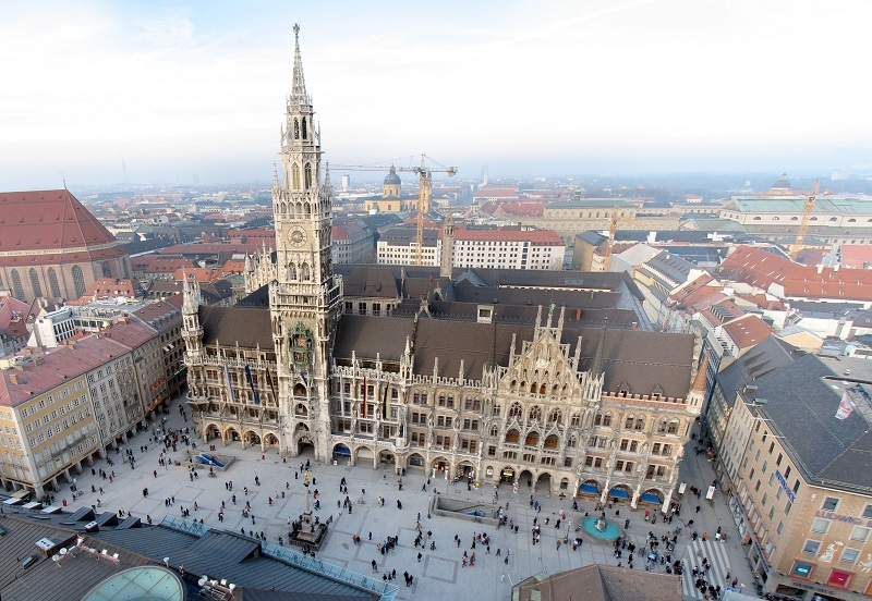 Praça Marienplatz em Munique | Alemanha