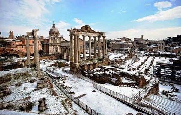 Inverno em Roma