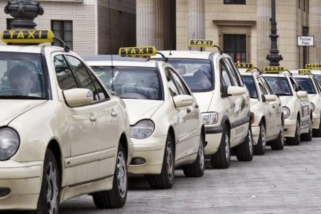 Táxis em Berlim na Alemanha