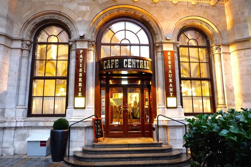 Café Central em Viena | Áustria