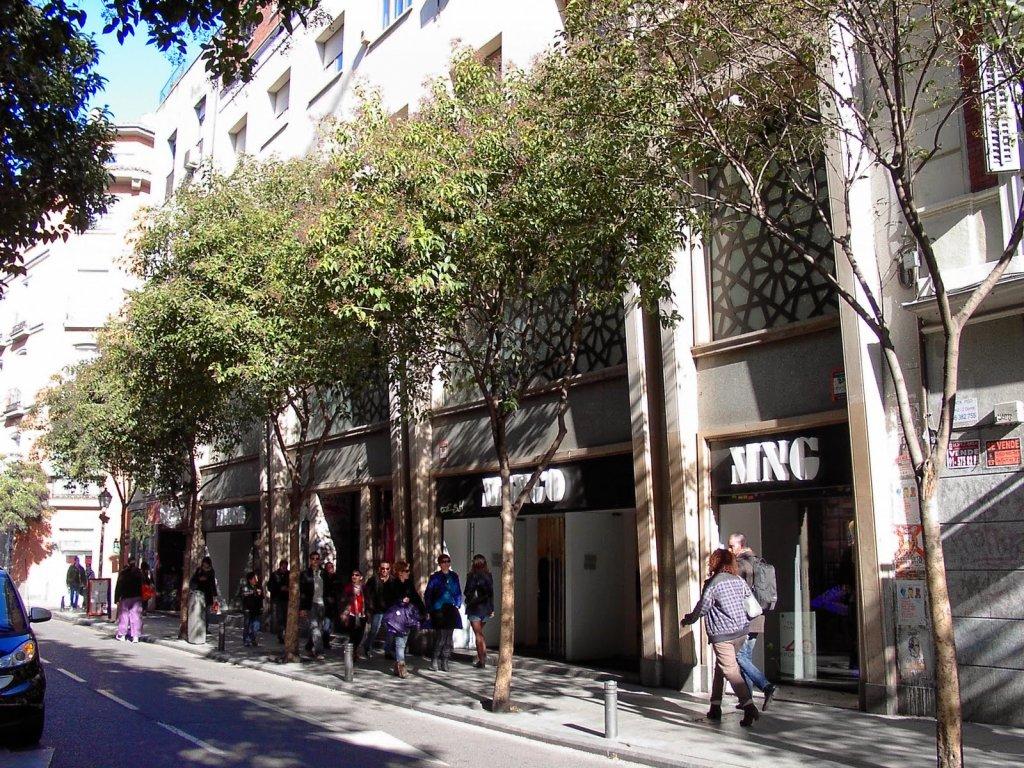 Calle de Fuencarral em Madrid