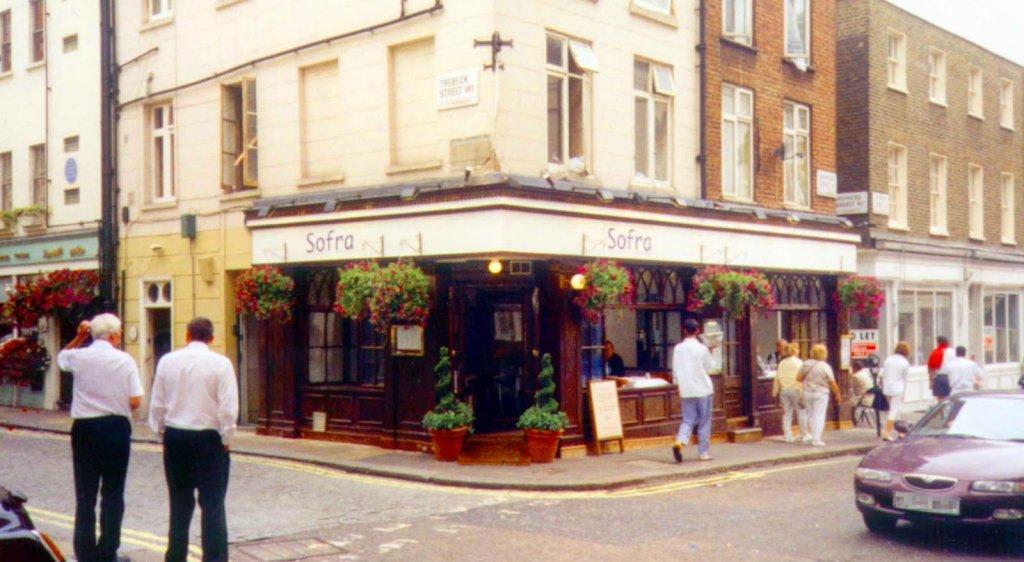 Restaurante Sofra em Londres