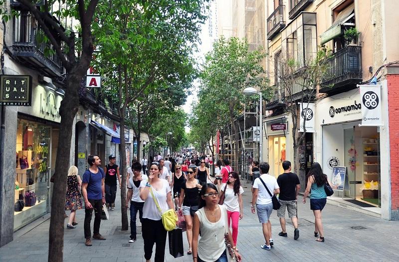 Calle de Fuencarral em Madri | Espanha