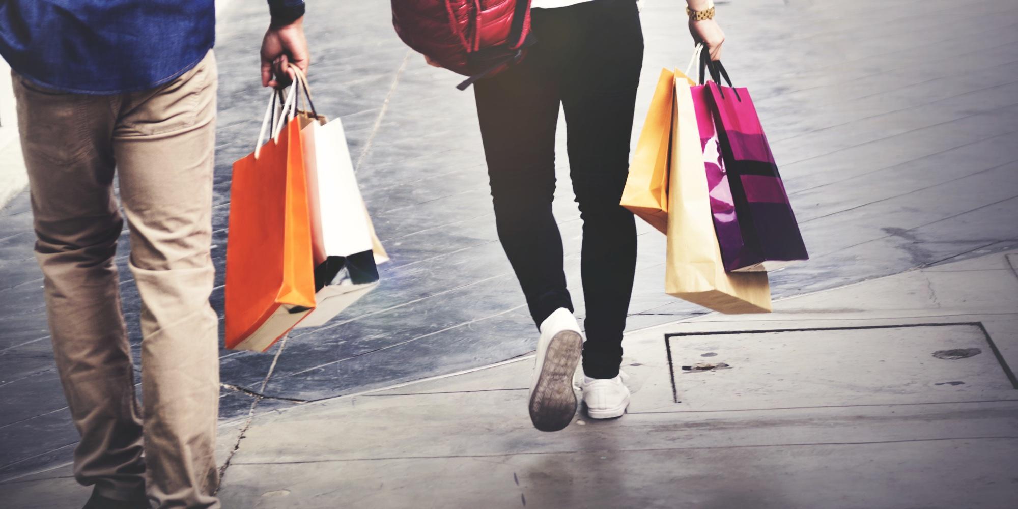 Ruas para fazer compras em Roma | Itália