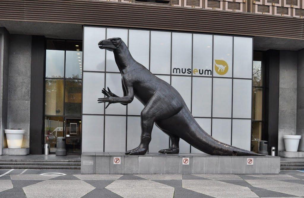 Exterior do Museu de Ciências Naturais de Bruxelas