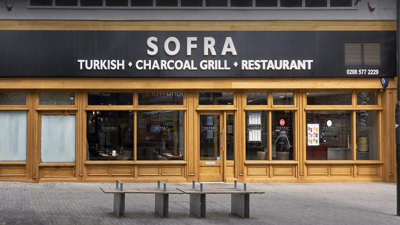 Restaurante Sofra em Londres | Inglaterra