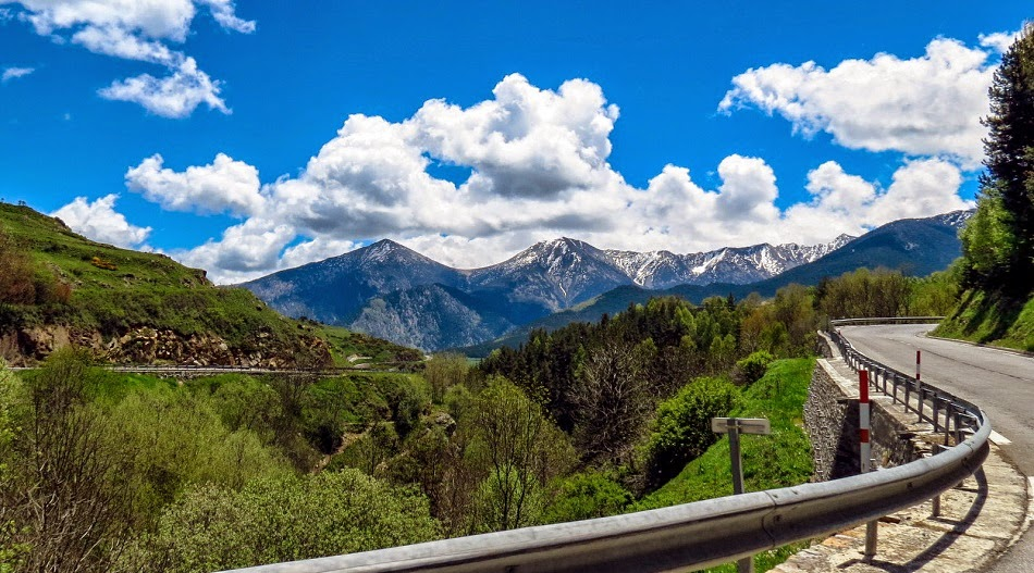 Estrada e paisagem