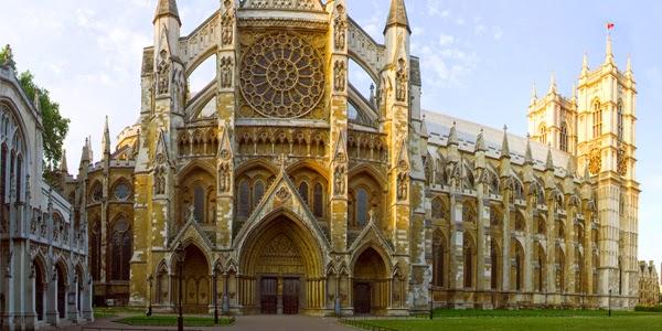 Igreja Abadia de Westminster em Londres