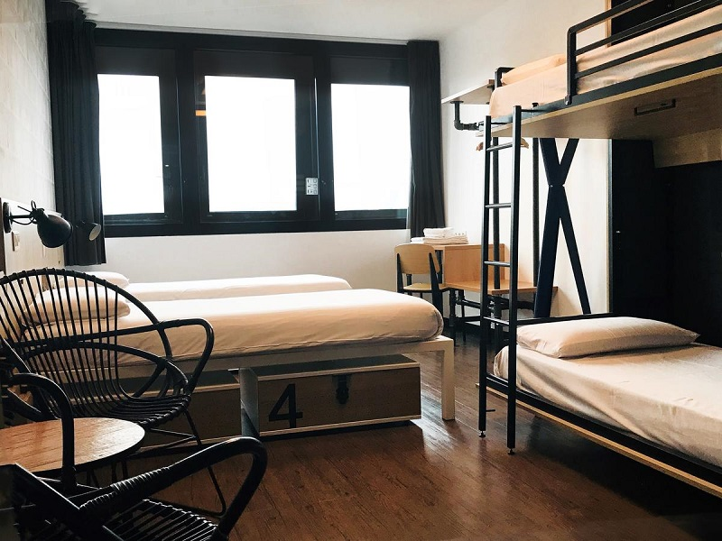 Hostel em Paris
