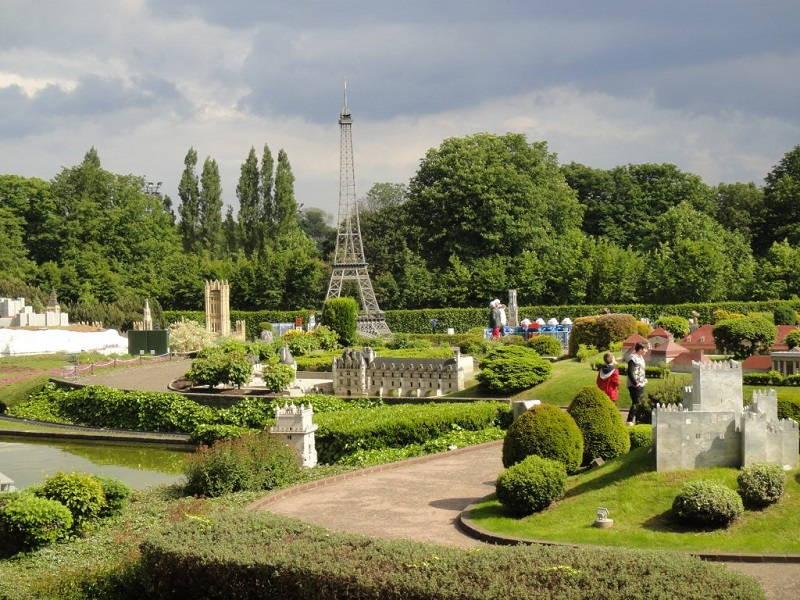 Parque Mini Europa em Bruxelas