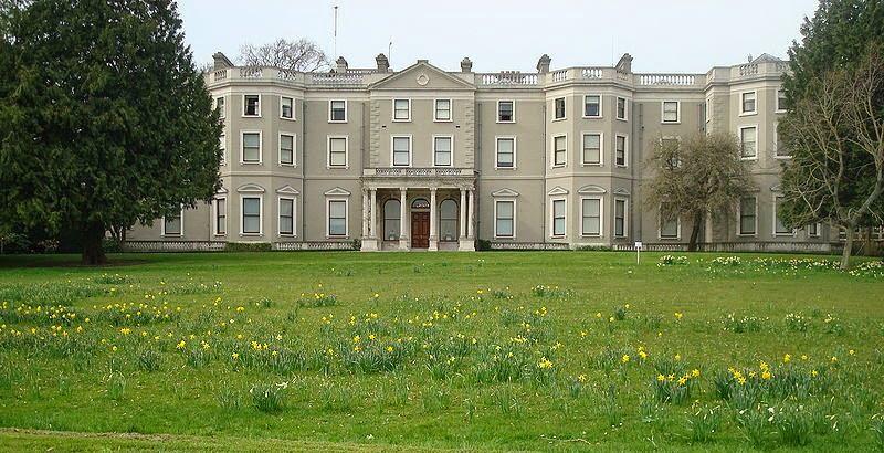 Residência no Parque Phoenix Park em Dublin