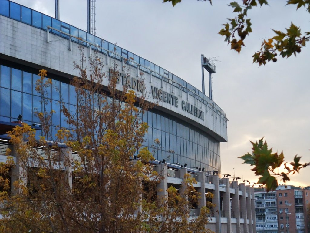 Museu do Atlético de Madrid em Madri na Espanha