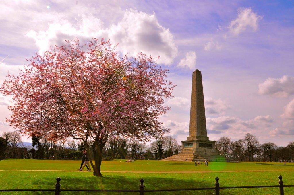 Obelisco no Parque Phoenix Park em Dublin
