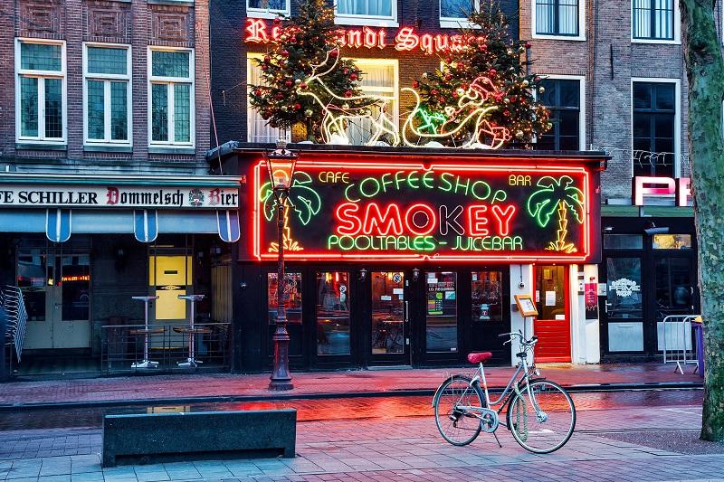 Coffeeshop em Amsterdã