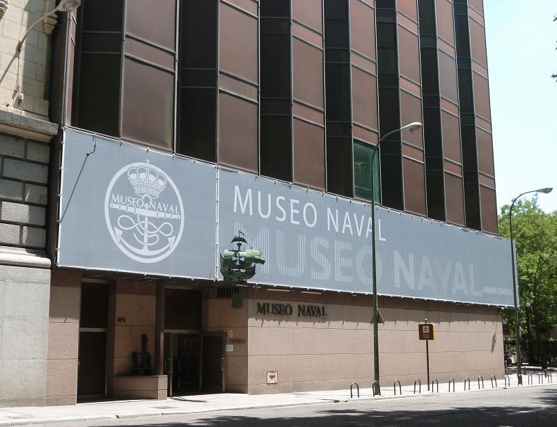Museu Naval em Madri na Espanha