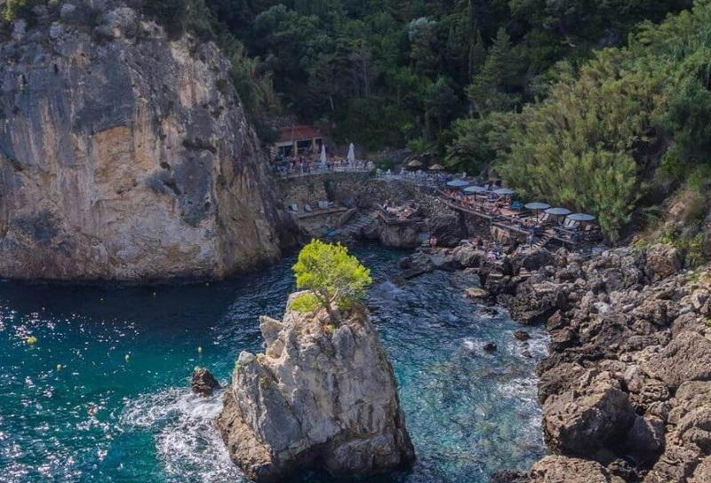 Grotta Cove em Corfu | Grécia