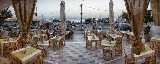 Restaurante Antamoma na ilha de Naxos