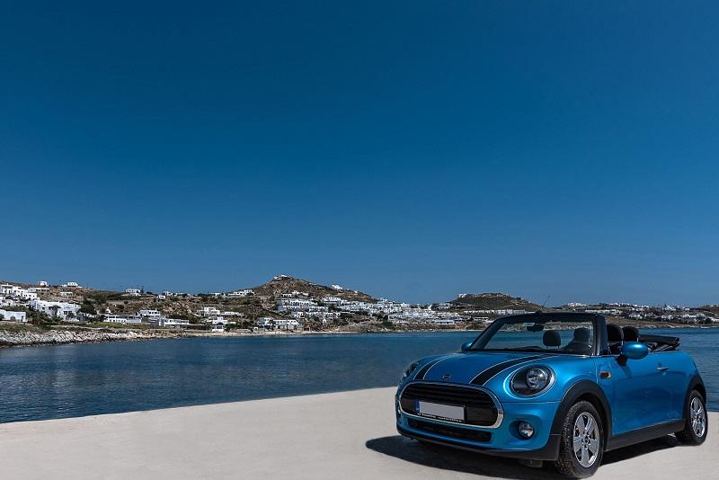 Aluguel de carro em Mykonos | Grécia