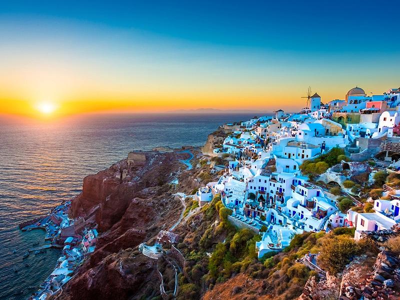 Fuso horário Santorini x Brasil | Grécia