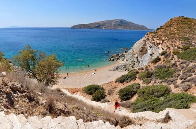 Praia Legrena em Atenas
