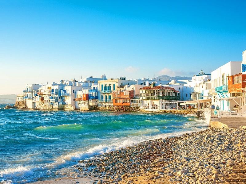 Praias da ilha de Mykonos | Grécia
