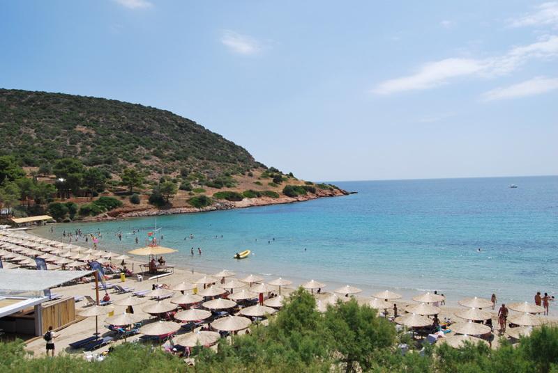 Praia Porto Rafti em Atenas