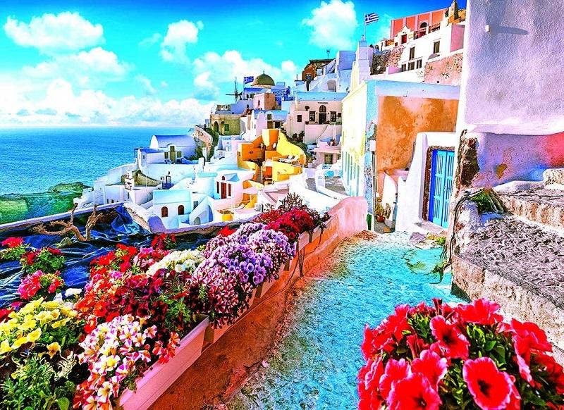 Clima e temperatura em Santorini | Grécia