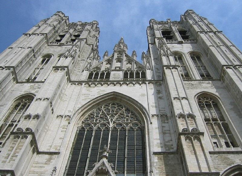 Cathédrale St Michel et Gudule em Bruxelas