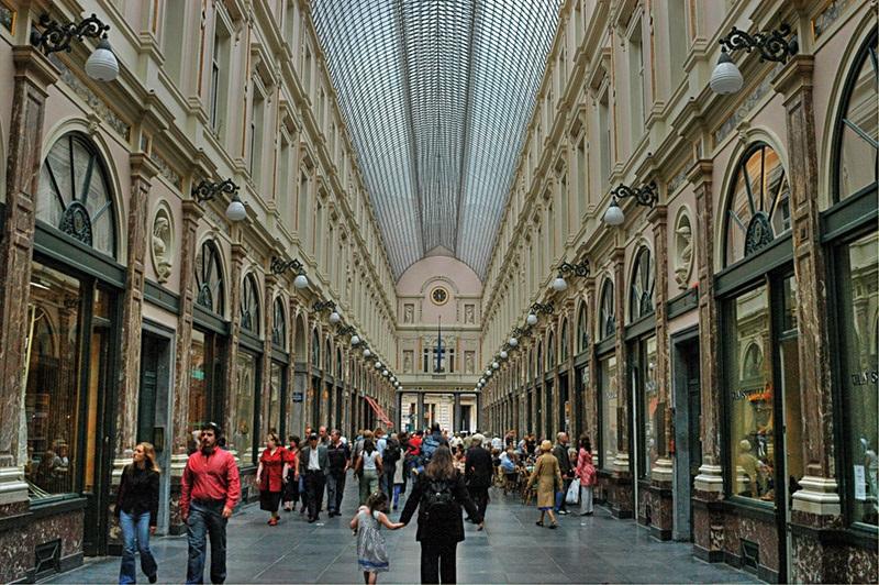 Galeries Royales Saint-Hubert em Bruxelas