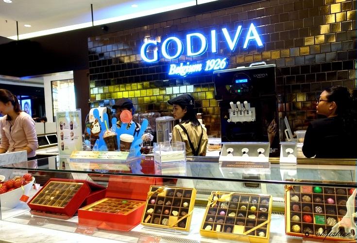 Godiva Factory Outlet em Bruxelas