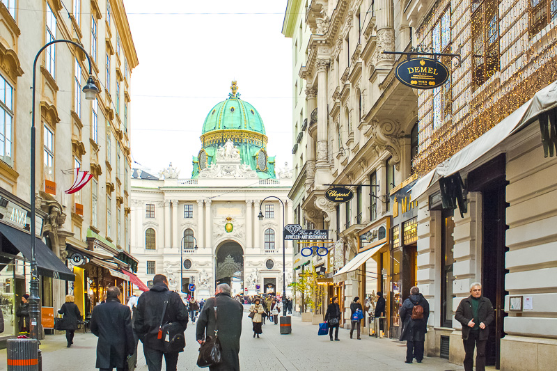 Kohlmarkt em Viena