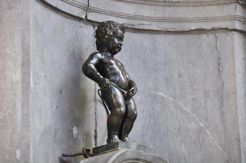 Manneken Pis em Bruxelas