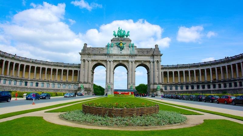 Parque Cinquentenário em Bruxelas