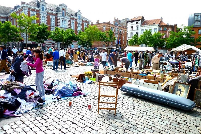 Sablon e Marolles em Bruxelas