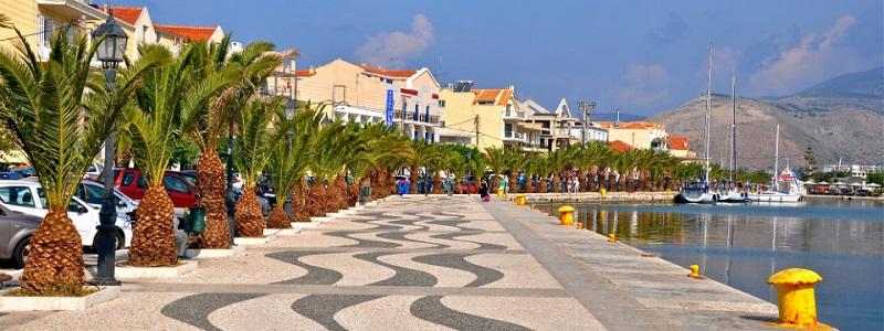 Argostoli em Cefalônia