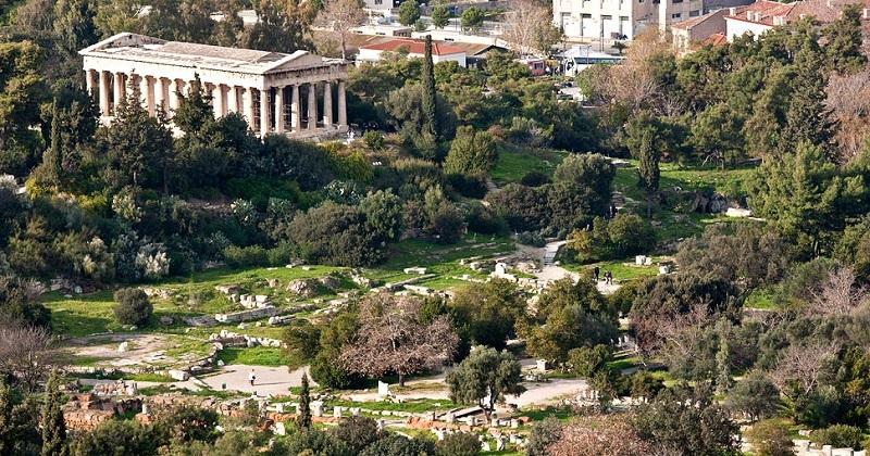 Antiga Ágora em Atenas