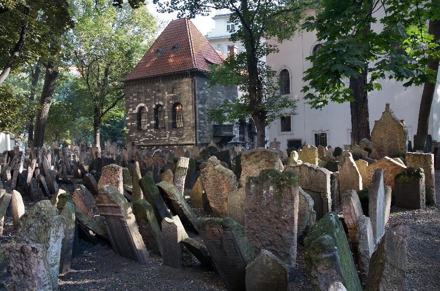 Bairro judeu (Josefov) em Praga