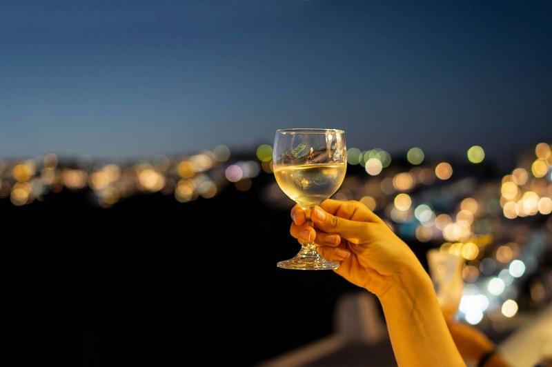 O que fazer à noite em Santorini   Grécia