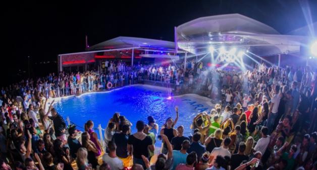 Cavo Paradiso Club na ilha de Mykonos
