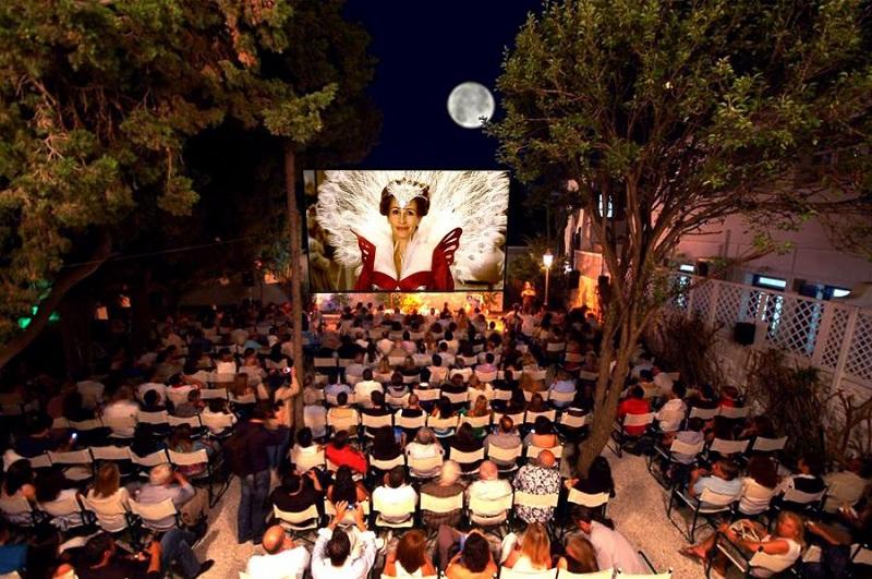 Cine Manto na ilha de Mykonos