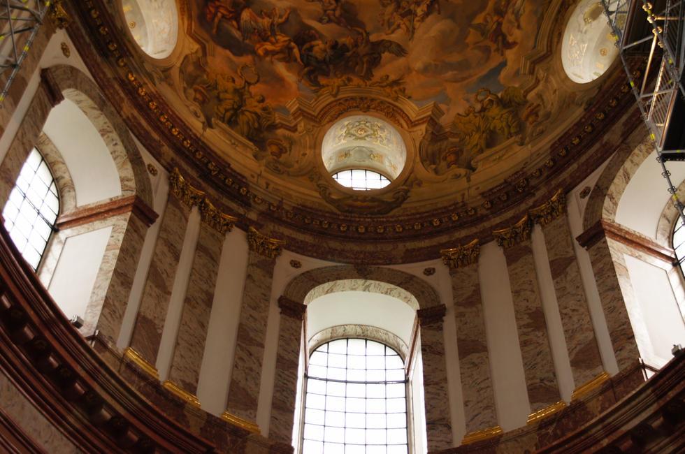 Igreja de São Carlos em Viena