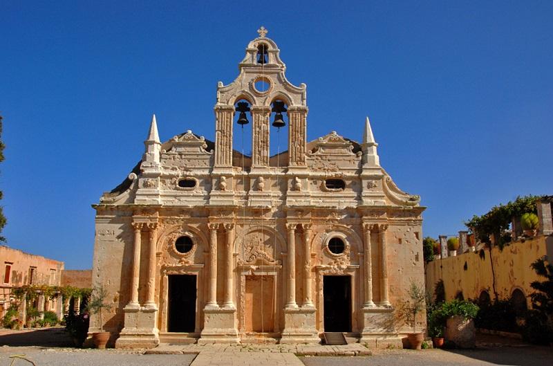 Monastério Arkadi na ilha de Creta