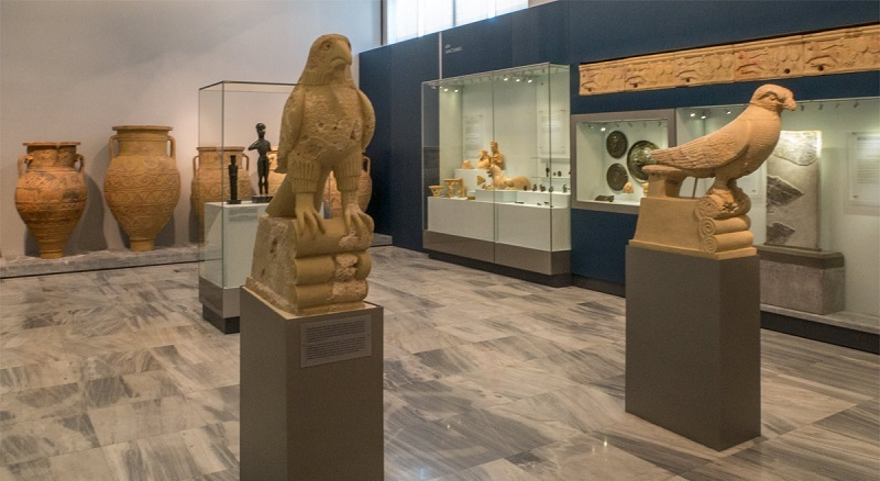 Museu Arqueológico de Heráklion na ilha de Creta