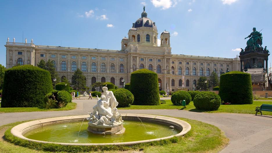 Museu de História Natural e Museu de História da Arte em Viena