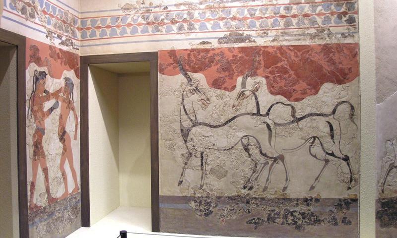 Museu Pré-Histórico de Thira em Santorini